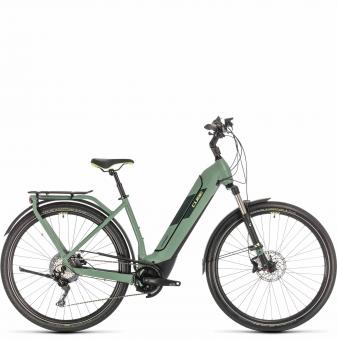 Электровелосипед Cube Kathmandu Hybrid Exc 625 Easy Entry (2020) green´n´green
