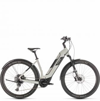 Электровелосипед Cube Nuride Hybrid EXC 500 Allroad (2020) grey´n´black