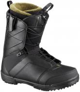 Ботинки для сноуборда Salomon Faction Black (2020)