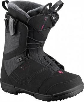 Ботинки для сноуборда Salomon Pearl black (2020)