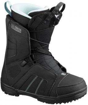 Ботинки для сноуборда Salomon Scarlet black (2020)
