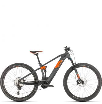 Электровелосипед Cube Stereo Hybrid 120 Race 500 29 (2020) grey´n´orange