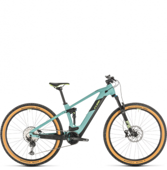 Электровелосипед Cube Stereo Hybrid 120 Race 500 29 (2020) frozengreen´n´green