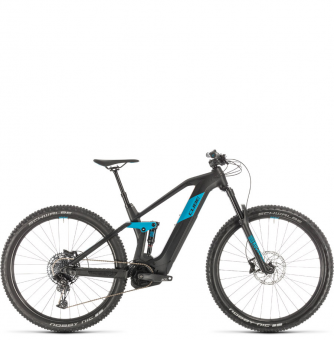 Электровелосипед Cube Stereo Hybrid 140 HPC Race 500 29 (2020) black´n´blue