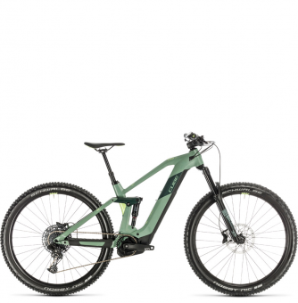 Электровелосипед Cube Stereo Hybrid 140 HPC Race 500 29 (2020) green´n´sharpgreen