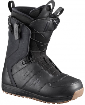 Ботинки сноубордические Salomon Launch black (2019)
