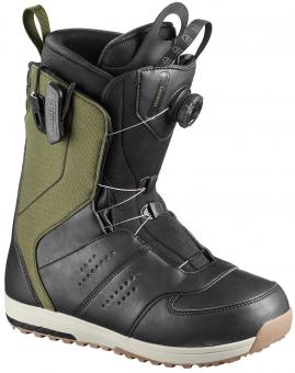Ботинки сноубордические Salomon Launch olive night (2019)