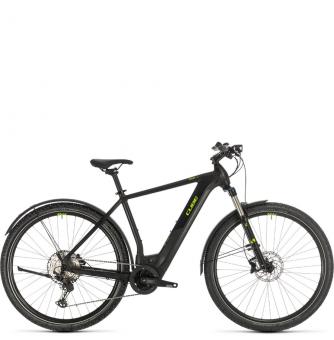 Электровелосипед Cube Cross Hybrid Race 500 Allroad (2020) black´n´green
