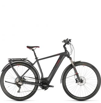 Электровелосипед Cube Kathmandu Hybrid Exc 500 (2020) iridium´n´red