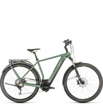 Электровелосипед Cube Kathmandu Hybrid Exc 500 (2020) green´n´green