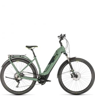 Электровелосипед Cube Kathmandu Hybrid Exc 500 Easy Entry (2020) green´n´green