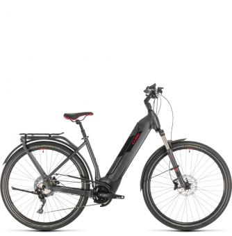 Электровелосипед Cube Kathmandu Hybrid Exc 500 Easy Entry (2020) iridium´n´red
