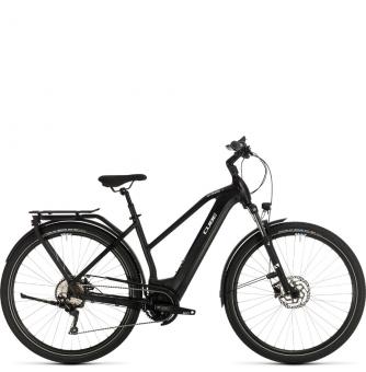 Электровелосипед Cube Kathmandu Hybrid Pro 625 Trapeze (2020) black´n´white