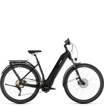 Электровелосипед Cube Kathmandu Hybrid Pro 625 Easy Entry (2020) black´n´white