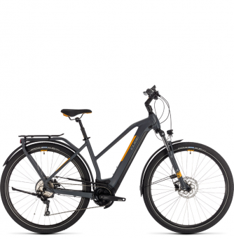 Электровелосипед Cube Kathmandu Hybrid Pro 625 Trapeze (2020) grey´n´orange
