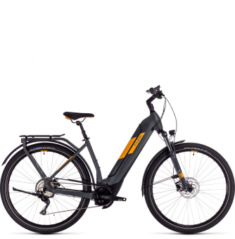 Электровелосипед Cube Kathmandu Hybrid Pro 625 Easy Entry (2020) grey´n´orange