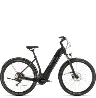 Электровелосипед Cube Nuride Hybrid Pro 625 Allroad (2020) black´n´grey