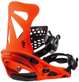 Крепления для сноуборда FLUX DSL Neon orange (2019)