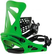 Крепления для сноуборда Flux DSL Neon green (2019)