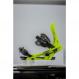 Крепления для сноуборда FLUX DSL Neon yellow (2019) 1