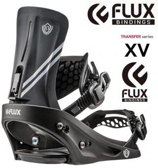 Крепления для сноуборда FLUX XV black (2019)