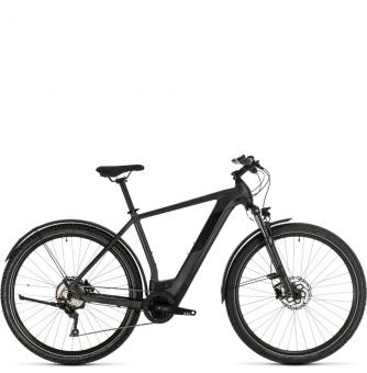 Электровелосипед Cross Hybrid Pro 625 Allroad (2020) iridium´n´black