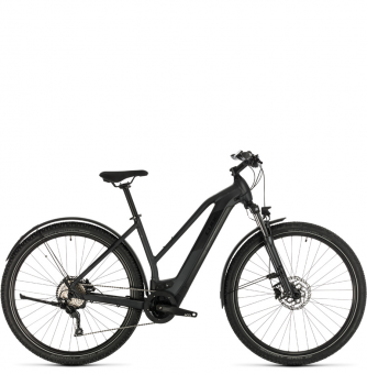 Электровелосипед Cross Hybrid Pro 625 Allroad Trapeze (2020) iridium´n´black