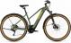 Электровелосипед Cross Hybrid Pro 625 Allroad Trapeze (2020) green´n´orange 1