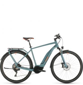 Электровелосипед Cube Touring Hybrid EXC 500 (2020) blue´n´orange