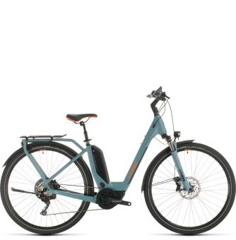 Электровелосипед Cube Touring Hybrid EXC 500 Easy Entry (2020) blue´n´orange