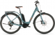 Электровелосипед Cube Touring Hybrid EXC 500 Easy Entry (2020) blue´n´orange 1