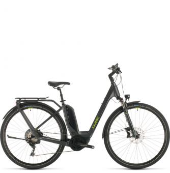 Электровелосипед Cube Touring Hybrid EXC 500 Easy Entry (2020) iridium´n´green