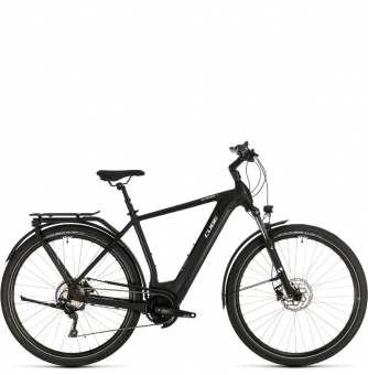 Электровелосипед Cube Kathmandu Hybrid Pro 500 (2020) black´n´white