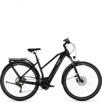 Электровелосипед Cube Kathmandu Hybrid Pro 500 Trapeze (2020) black´n´white
