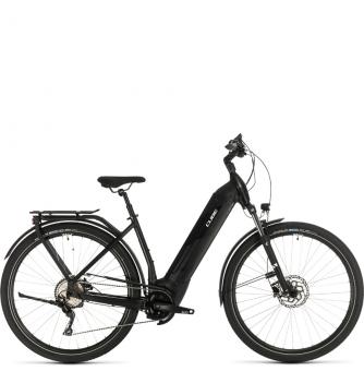 Электровелосипед Cube Kathmandu Hybrid Pro 500 Easy Entry (2020) black´n´white