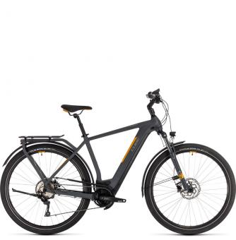 Электровелосипед Cube Kathmandu Hybrid Pro 500 (2020) grey´n´orange