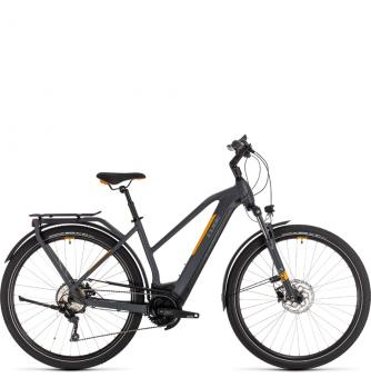 Электровелосипед Cube Kathmandu Hybrid Pro 500 Trapeze (2020) grey´n´orange