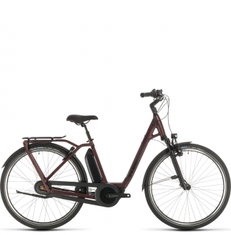 Электровелосипед Cube Town Hybrid EXC 500 (2020) red´n´black