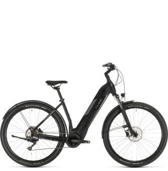 Электровелосипед Cube Nuride Hybrid Pro 500 Allroad (2020) black´n´grey