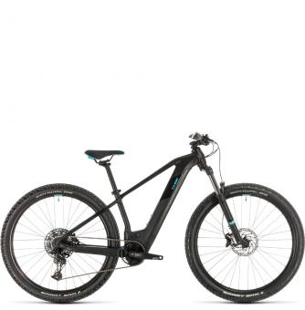 Электровелосипед Cube Access Hybrid EX 500 29 (2020) black´n´aqua