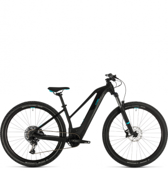Электровелосипед Cube Access Hybrid EX 500 29 Trapeze (2020) black´n´aqua