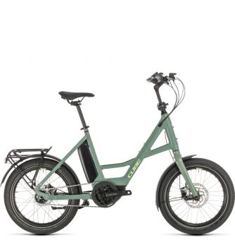 Электровелосипед Cube Compact Hybrid (2020) green´n´green