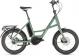 Электровелосипед Cube Compact Hybrid (2020) green´n´green 1