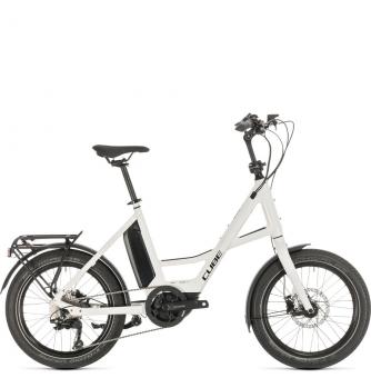 Электровелосипед Cube Compact Sport Hybrid (2020) white´n´black