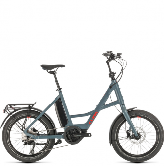 Электровелосипед Cube Compact Sport Hybrid (2020) blue´n´red