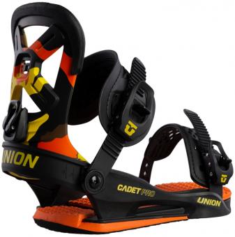 Крепления для сноуборда UNION Cadet Pro Orange Camo (2020)