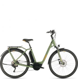 Электровелосипед Cube Town Sport Hybrid Pro 500 (2020) green´n´orange