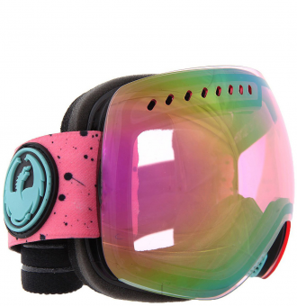 Маска Dragon APXs Splatt Pink Ionized + Ionized