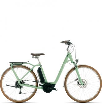 Электровелосипед Cube Ella Ride Hybrid 500 (2020) green´n´white