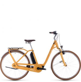 Электровелосипед Cube Ella Cruise Hybrid 500 (2020) yellow´n´white